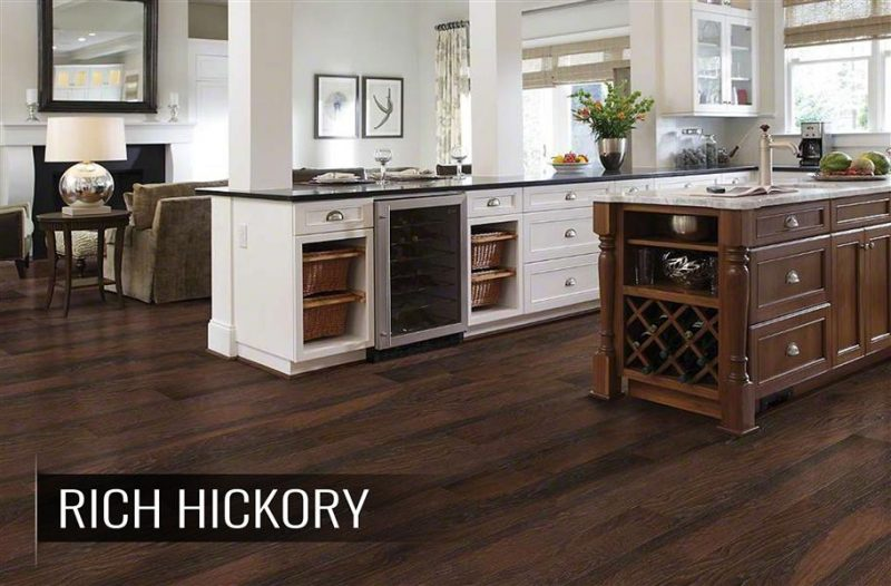 Espresso Wood (& Wood-Look) Kitchen Flooring