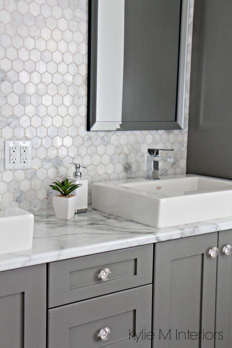 grey bathroom flooring
