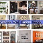 27+ Awesome Kitchen Wall Decor Ideas / Floor / Lighting / Table