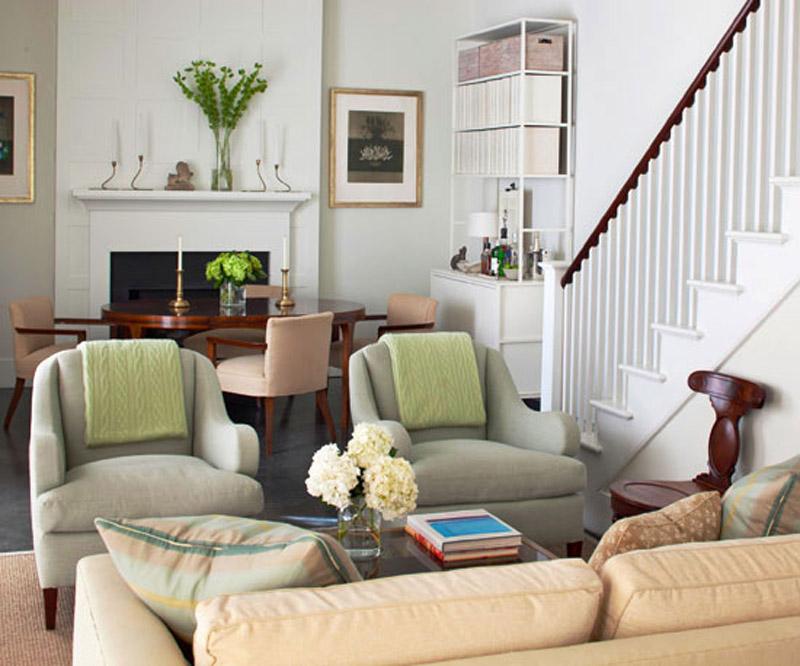 glam living room wall decor