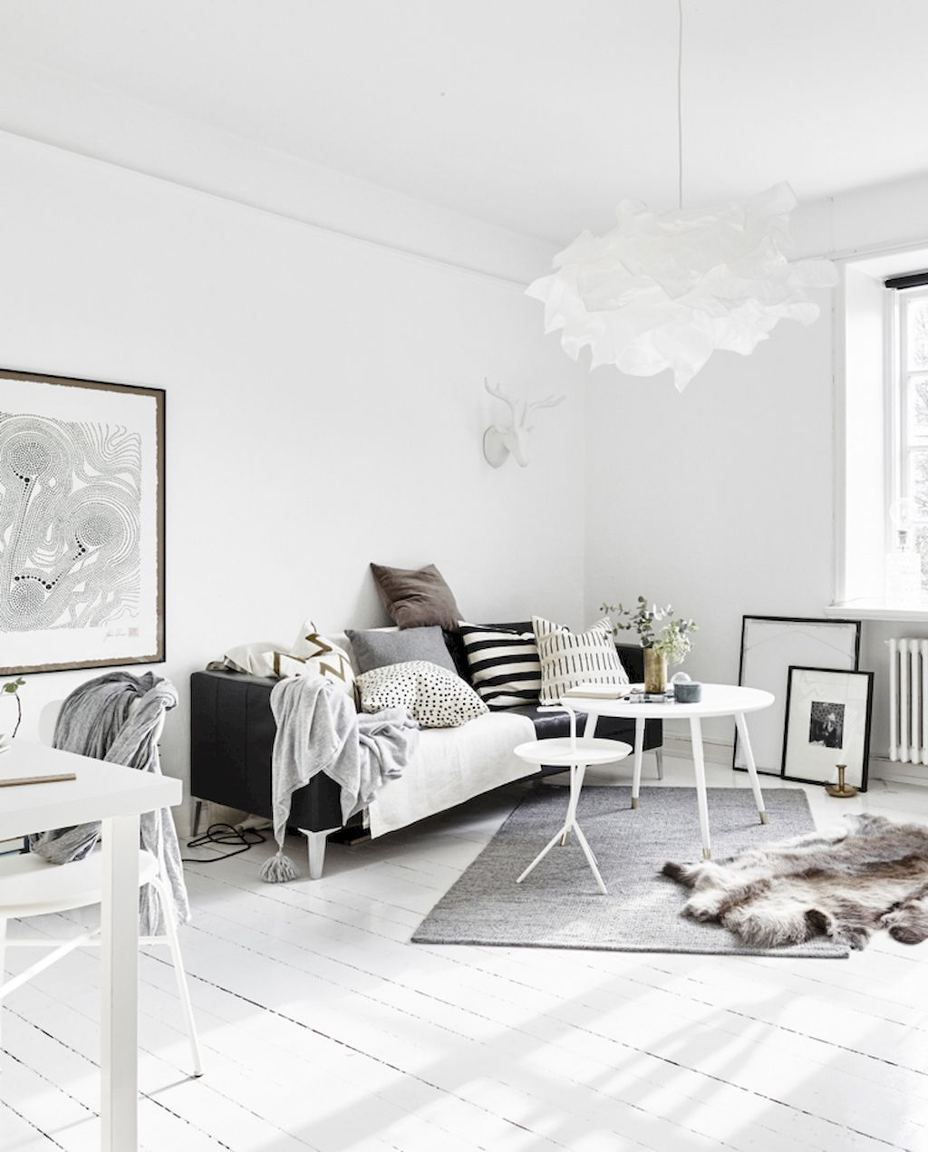 scandinavian interior lighting