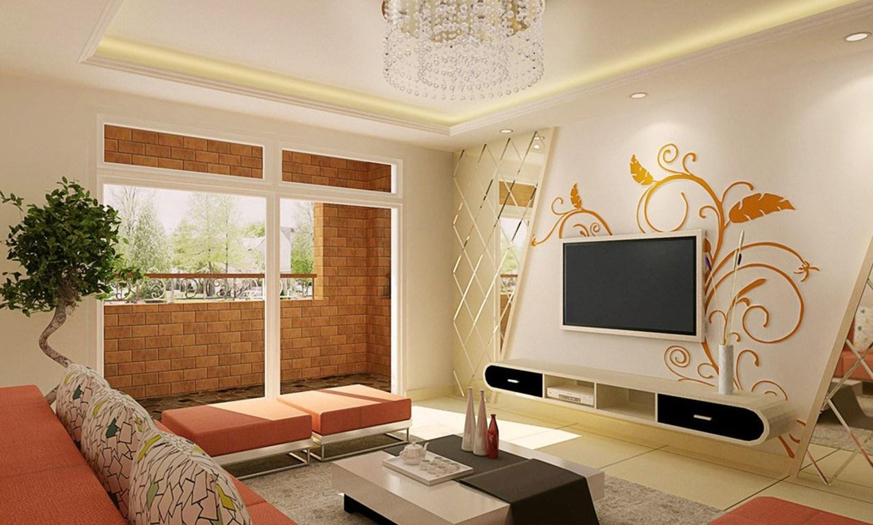 elegant living room wall decor