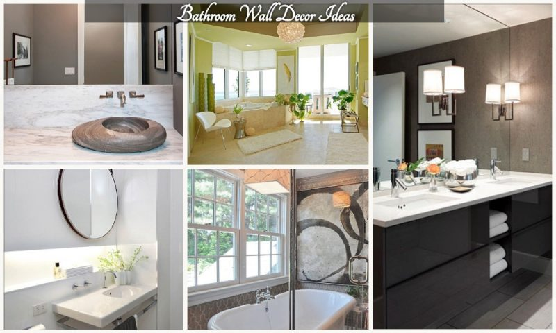 amazing Bathroom Wall Decor Ideas