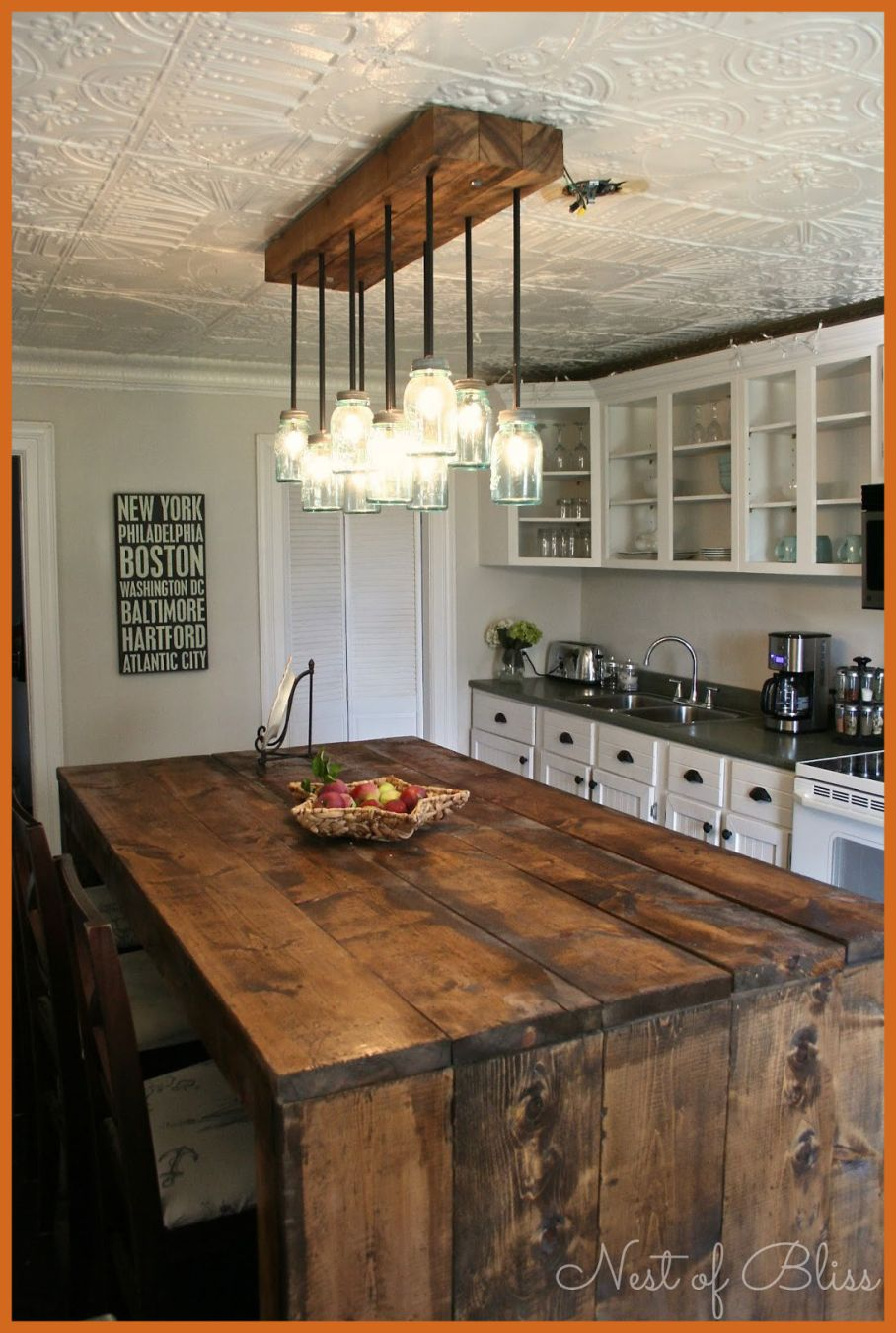 large kitchen lighting ideas