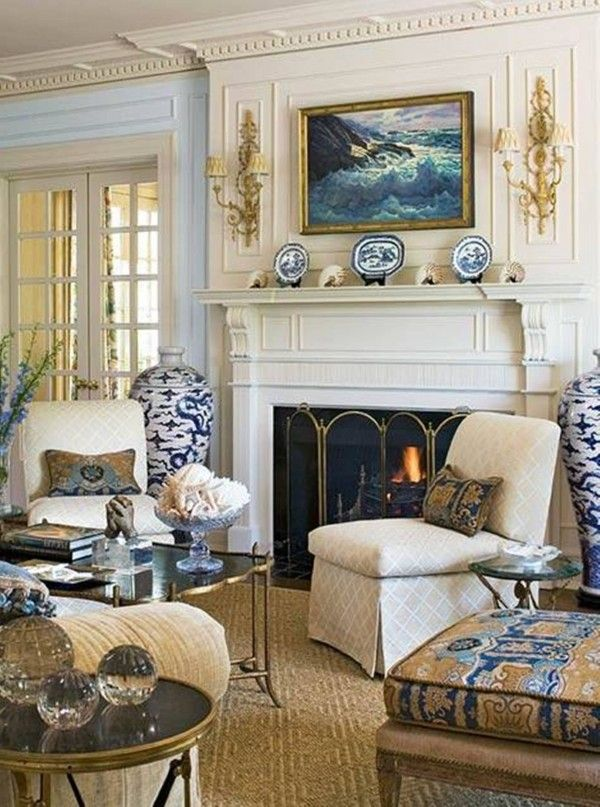 neutral living room wall decor