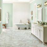 29+ Beautiful Bathroom Floor Design | Best Option For 2019
