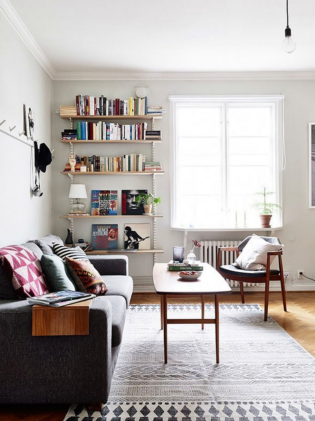 how to design a living room space