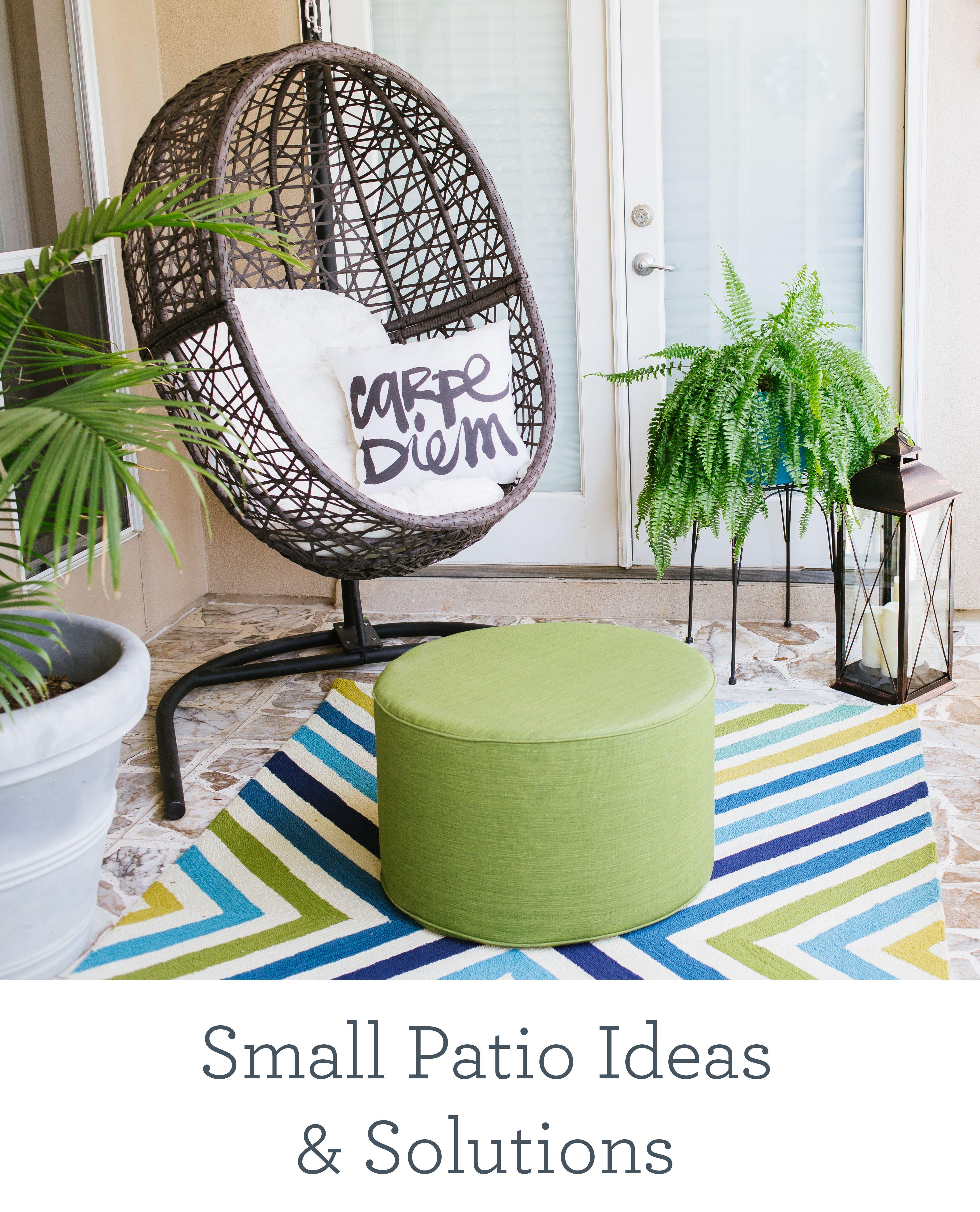 Outdoor Apartment Patio Furniture