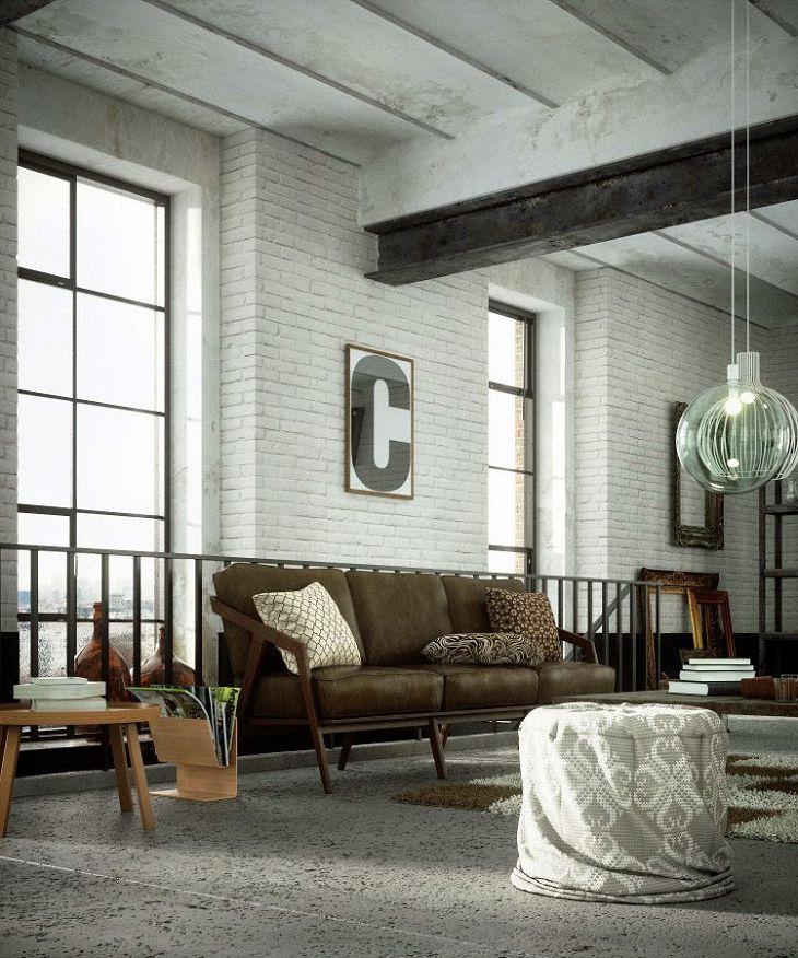 industrial living room fan
