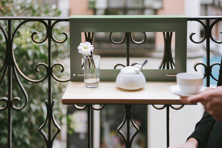 Narrow Balcony Table