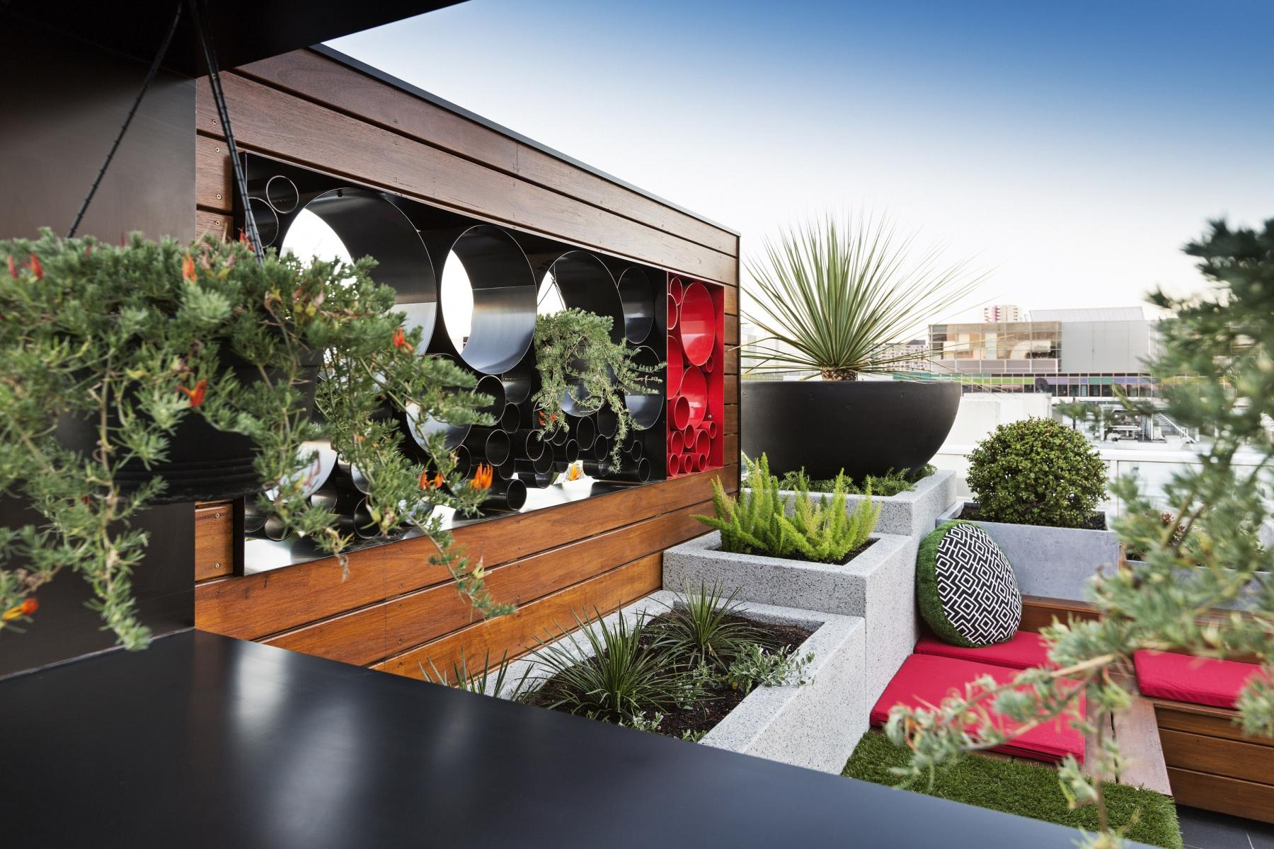 rooftop garden energy efficiency