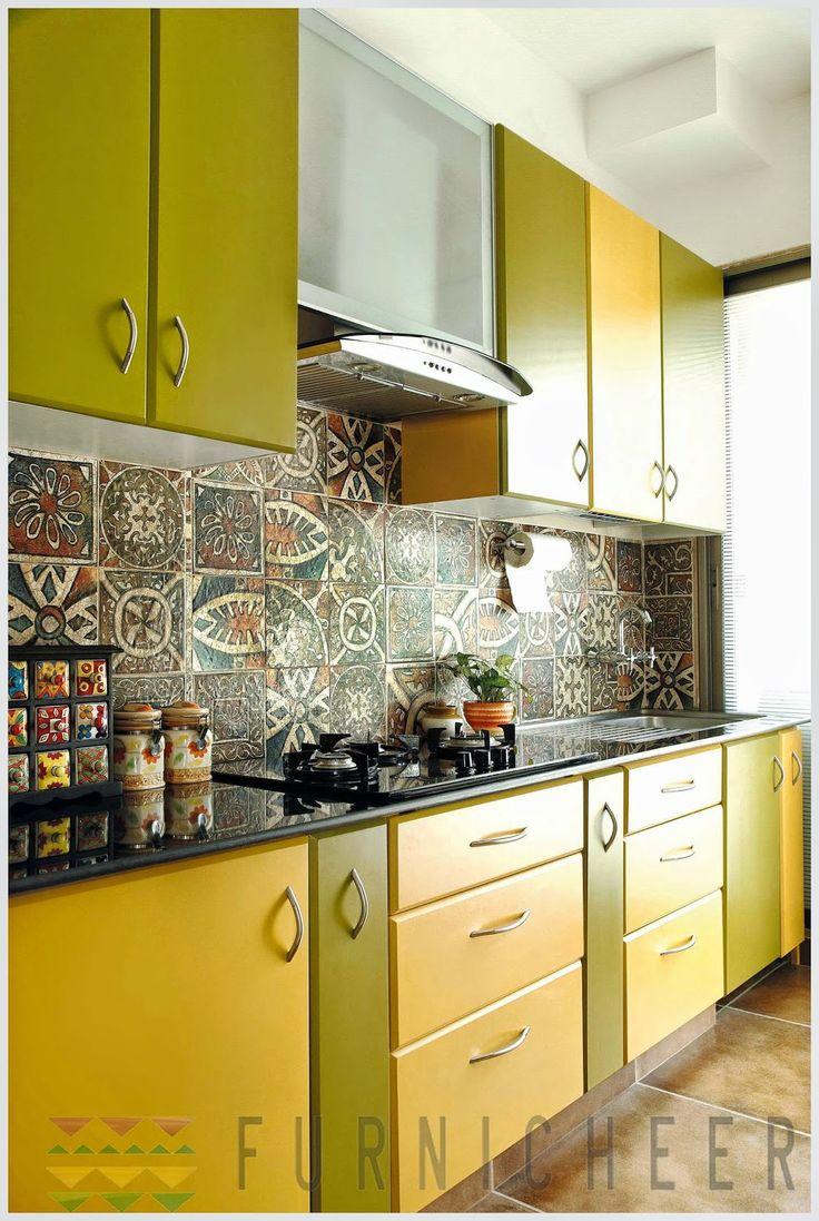 basic modular kitchen