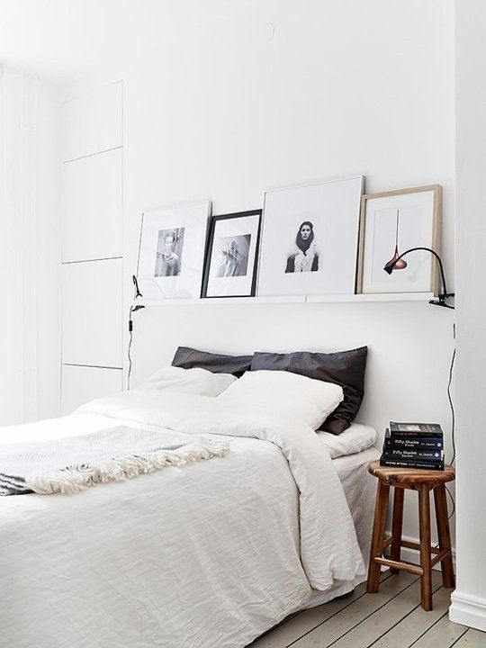 grey country style bedroom