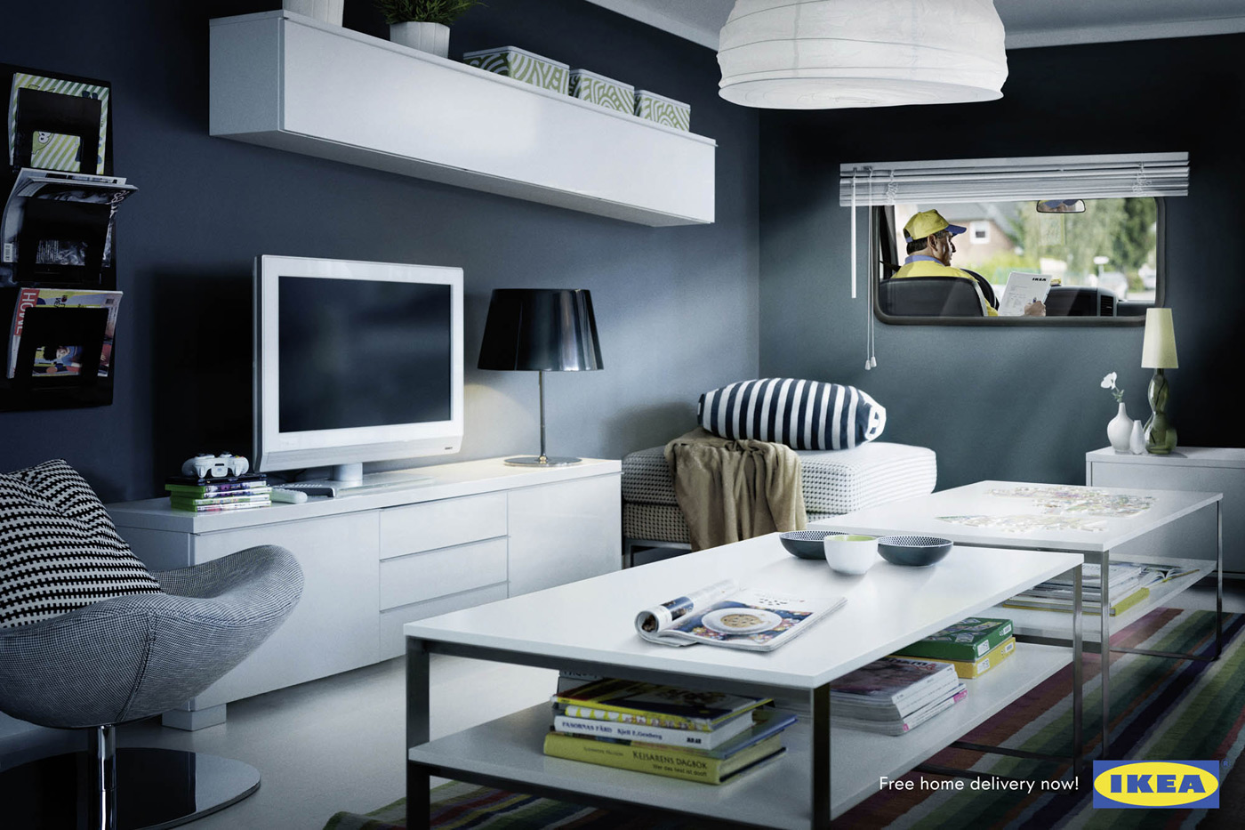 decorate sitting room idea
