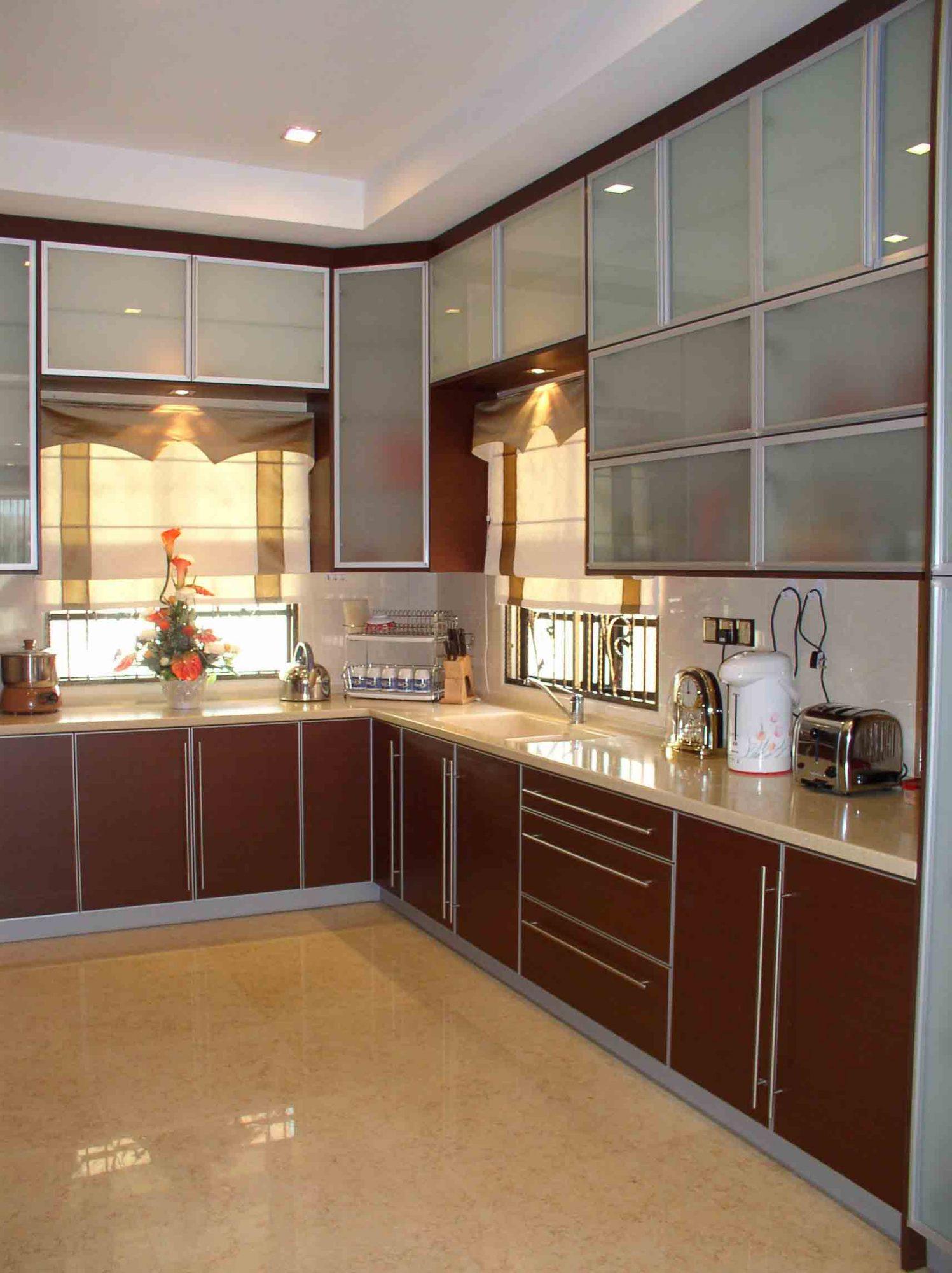 latest modular kitchen design in india