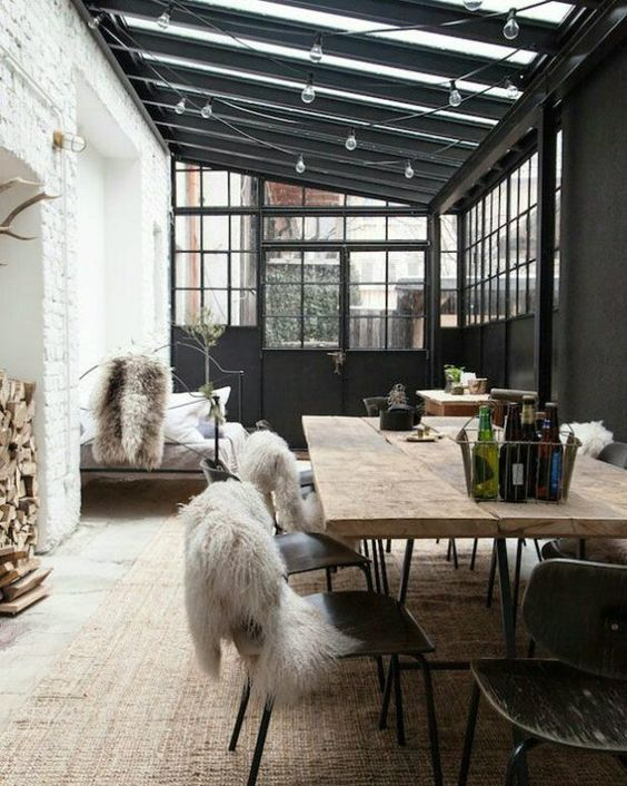 industrial style living room accessories