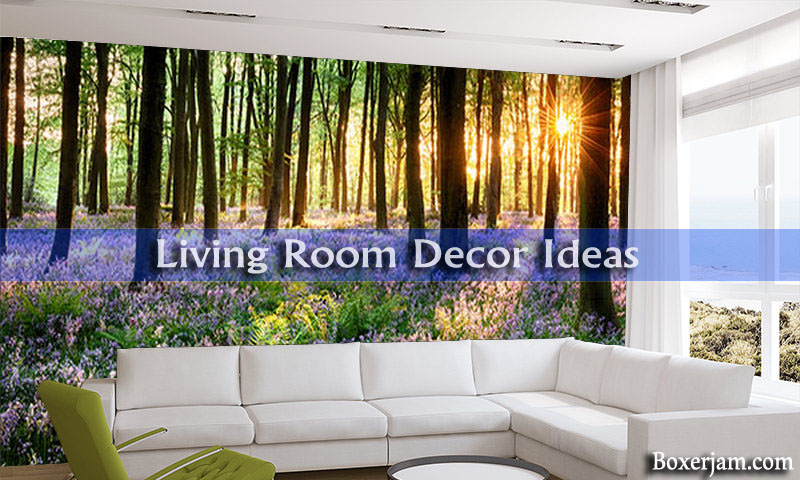 living room Purple Woodland living room decor