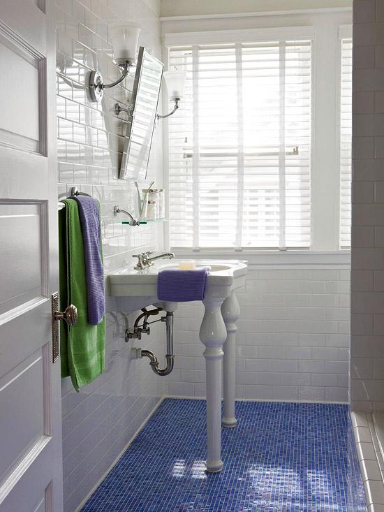 large grey bathroom tiles