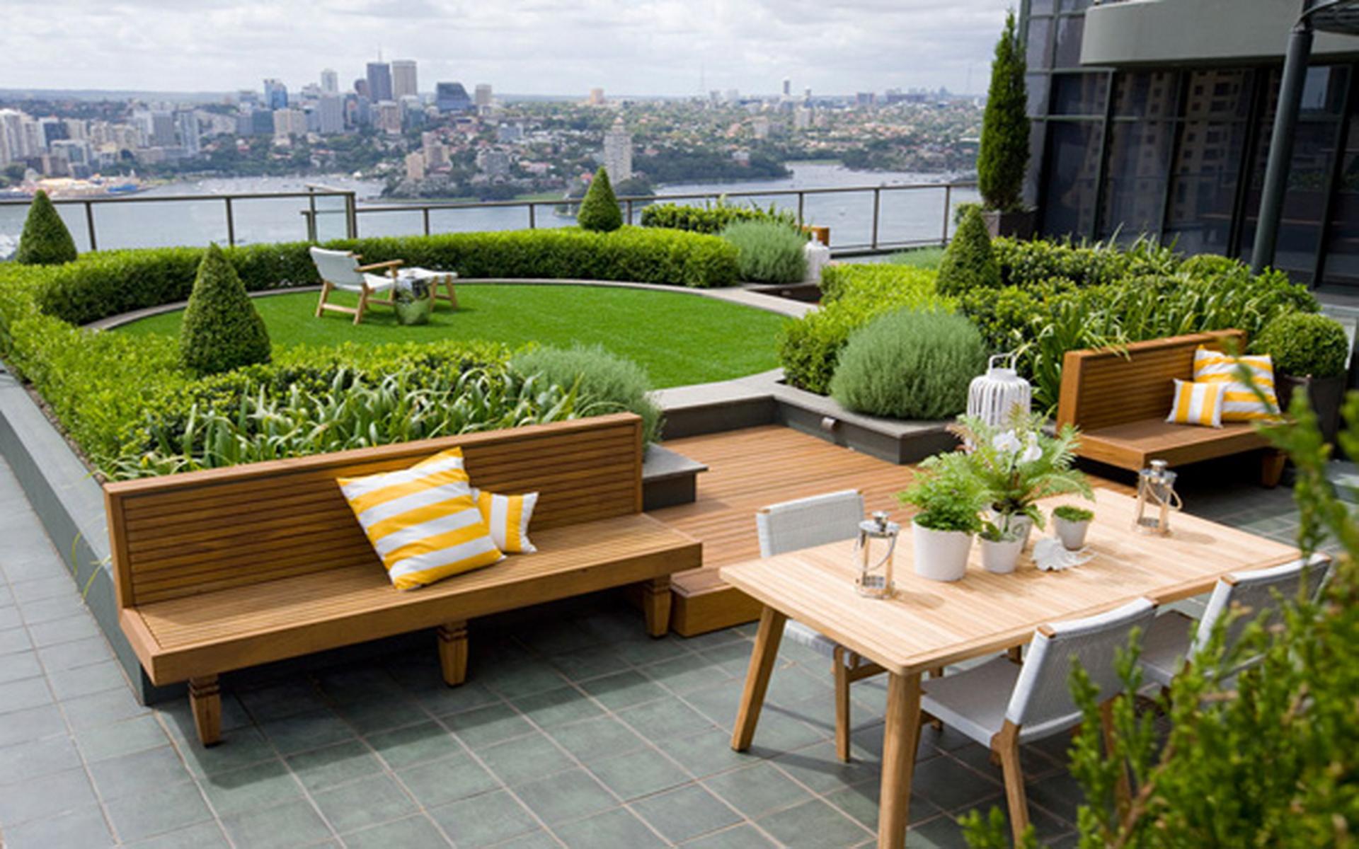 rooftop garden 1 utama