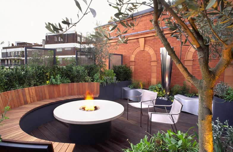 roof terrace venice