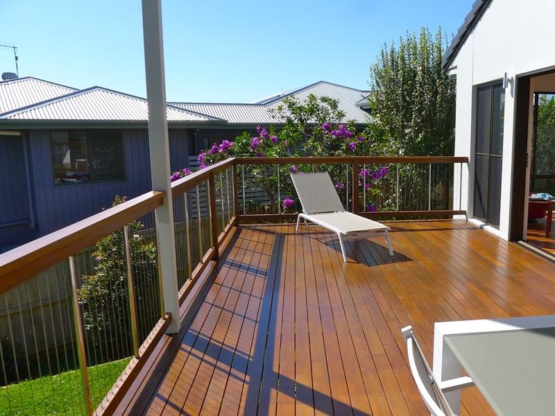 stainless steel balcony design