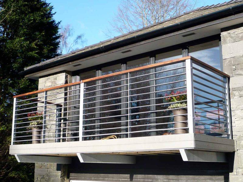 steel balcony idea