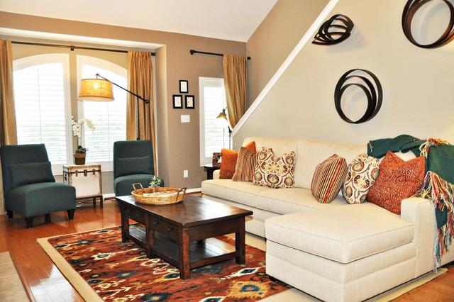 living room wall texture ideas