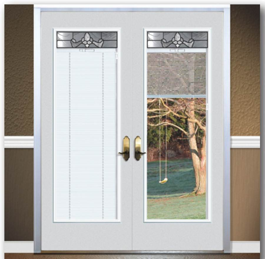 french door covering ideas