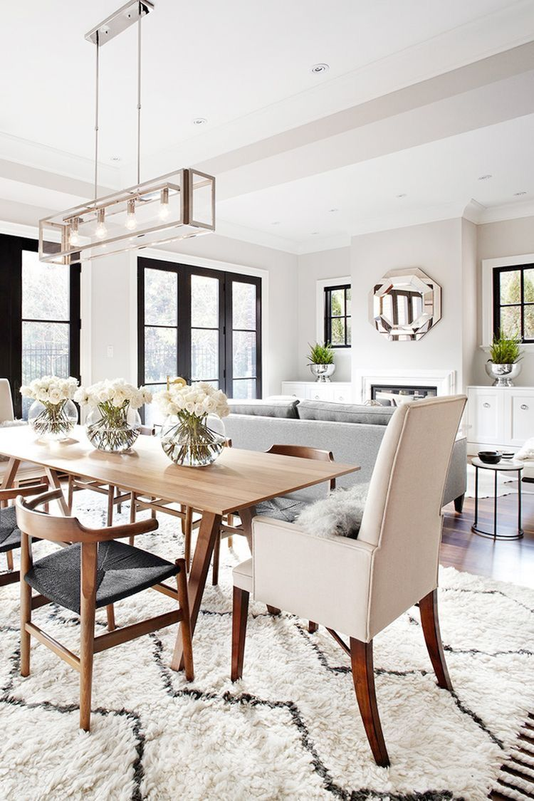 Urban Rustic Dining Room Table