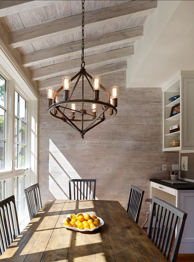 Rustic Timber Dining Room Table